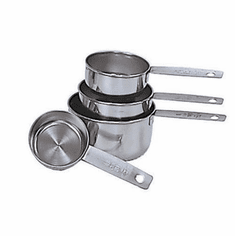 Adcraft Measuring Cups S/S 4 Piece, Model# MCS-4