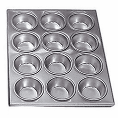 Adcraft Muffin Pan Alum 12 Cup, Model# AMP-12