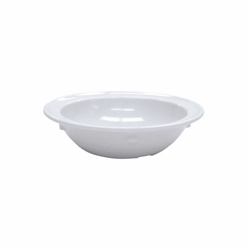 Adcraft Oval Veg Dish 4 Oz White, Model# MEL-OC55W