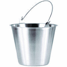 Adcraft Pail 1 Qt S/S, Model# PS-1E