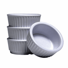 Adcraft Ramekin Melamine 2 Oz White, Model# RAM-2