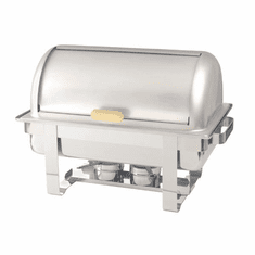 Adcraft Rolltop Chafer W/Brass Accent, Model# ROL-1