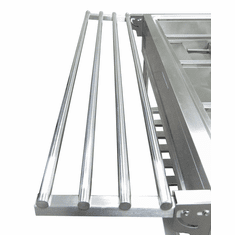 Adcraft Stainless Steel Tray Holder for EST-240, Model EST-240/TH