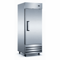 Adcraft U-Star Reach-In Refrigerator19 Cubic FeetStainless Steel1 Door, Model# USRF-1D/19
