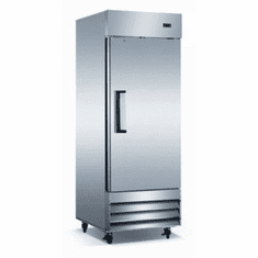 Adcraft U-Star Reach-In Refrigerator 23 Cubic Feet Stainless Steel 1 Door, Model# USRF-1D