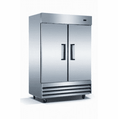 Adcraft U-Star Reach-In Refrigerator46.5 Cubic FeetStainless Steel2 Doors, Model# USRF-2D