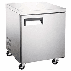 "Adcraft U-Star Undercounter Freezer 29.5""D X 27""W 6.25 Cubic Feet 1 Door, Model# USUCFZ-27"