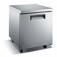 "Adcraft U-Star Undercounter Freezer29.5""D X 27""W6.25 Cubic Feet1 DoorSs, Model# USUCFZ-27"