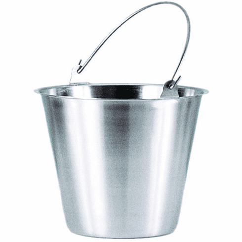 Adcraft Utility PailStainless Steel6 Quart, Model# PS-6