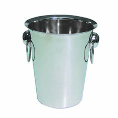 Adcraft Wine Bucket 4 Qt 18-8 S/S, Model# WBF-4