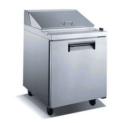 Admiral Craft Salad Prep Table E Series 1 Door Model GRSL-1D