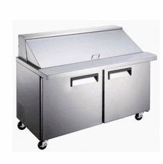 Admiral Craft Salad Prep Table Mega E Series 2 Door Model GRSLM-2D