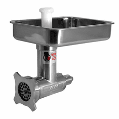 Alfa 12 Complete Meat Grinder/Chopper Attachment (Stainless Steel), Model# 12 ss cca