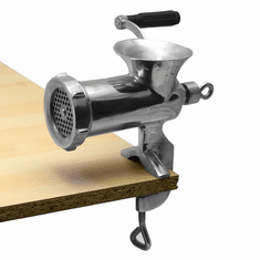 Alfa 12 Ss Stainless Steel #10/12 Hand Food Grinder Clamp Style Model 12 SS