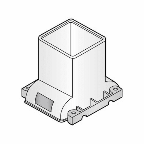Alfa 2050 Hopper Top (Old Style) Plastic Parts For Hollymatic Super 54 Patty Maker, Model# HOL050C