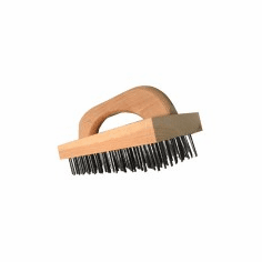 "Alfa Butcher Block Cleaning Brush9-1/4"" X 3-3/4"" (Made In The USA), Model# 15"