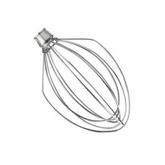 Alfa International 5 Quart Ss Wire Whip/Agitators For Kitchenaid Mixers, Model# K5W