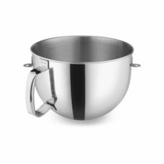 Alfa Kitchenaid® 6 Quart Ss Mixing Bowl With Handle For Kitchenaid® Kp600 Stand Mixer (Made In The USA), Model# k6pbwss