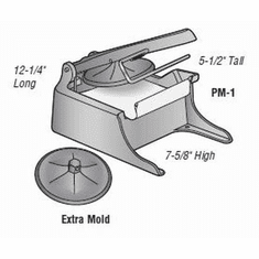 Alfa Replacement Plastic Liner For Pm-1/Beef Patty Maker, Model# M-14