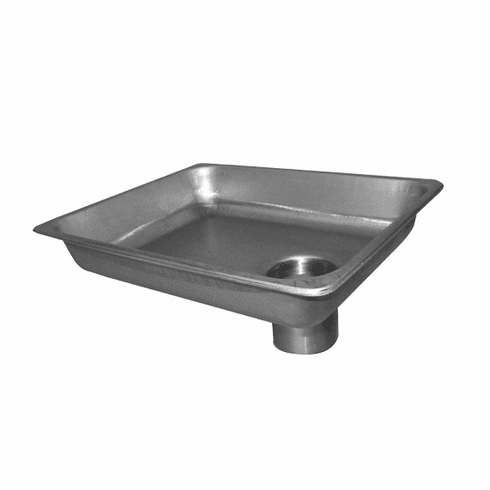 """Alfa Stainless Steel Pan Only (Oblong) 12"""" X 9"""" X 2"""", Model# 12 h pan"""