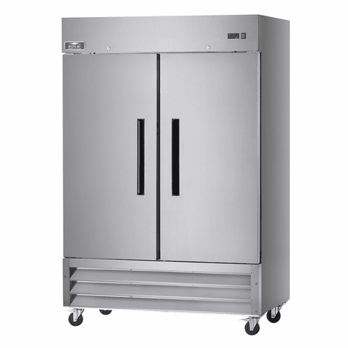 """Arctic Air 54"""" Freezer Two Section Reach-In 49 Cubic Foot Solid Door, Model# AF49"""