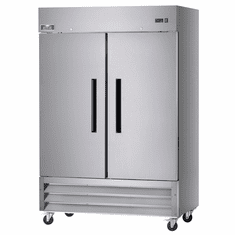 "Arctic Air 54"" Refrigerator Two Section Reach-In 49 Cubic Feet Solid Door, Model# AR49"