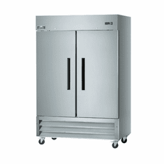 """Arctic Air 54"""" RefrigeratorTwo Section Reach-In49 Cubic FeetSolid Door, Model# AR49"""
