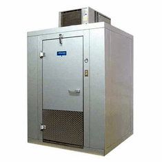Arctic Indoor 6 X 6 Walk In Self Contained Cooler w/Floor Model BL66-CF-SC, Made in the U.S.A