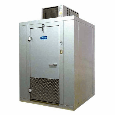Arctic Indoor 8 X 6 Walk In Self Contained Cooler w/Floor Model BL86-CF-SC, Made in the U.S.A