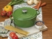 Bayou Classic 5-Quart Cypress Green Cast Iron Dutch Oven with Lid, Model 7720G