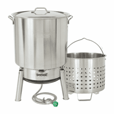 Bayou Classic 82 Qt Stainless Boil & Steam Kit, Model# KDS-982