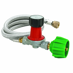 Bayou Classic 30 PSI Regulator / Hose Assembly, Model# M5HPR-30