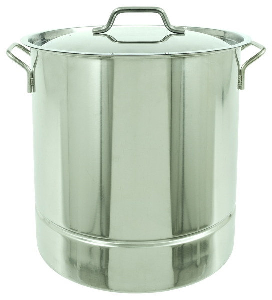 Bayou Clic 10 Gallon Stainless Steel Stockpot With Tri Ply Bottom And Lid