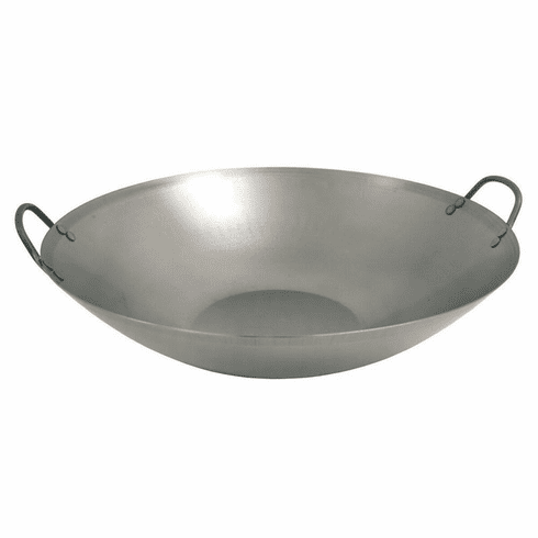 "Bayou Classic 15.5"" Carbon Steel Wok, Model# 8540"