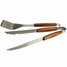 Bayou Classic 2-pc Stainless Grill Tool Set, Model 500-770
