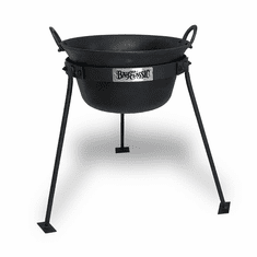 Bayou Classic 20-qt Cast Iron Gypsy Pot with Stand, Model CI7455