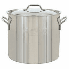 Bayou Classic 20 Qt Stainless Economy Brew Kettle, Model# 1420
