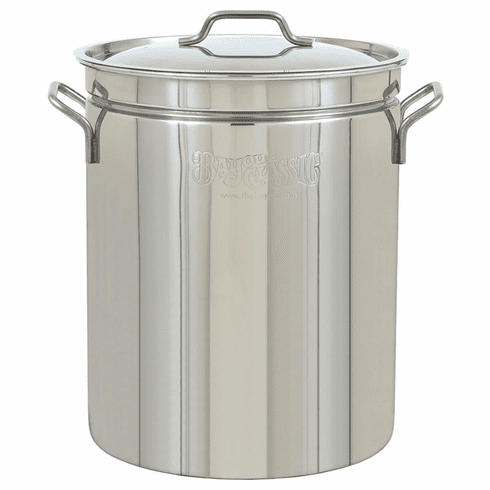 Bayou Classic 44 Qt Stainless Stockpot, Model# 1044