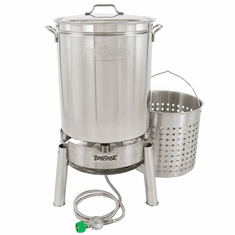 Bayou Classic 60 Qt Stainless Boil & Steam Kit, Model# KDS-160