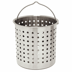 Bayou Classic 62 Qt Stainless Basket, Model# B160