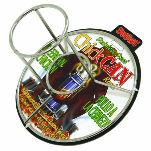 Bayou Classic Beer Can Chicken Rack Stainless Steel Clip Strip , Model# 0880-CS