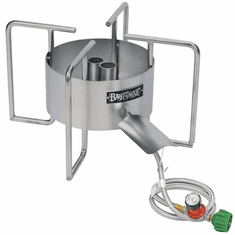 Bayou Classic Stainless Dual Jet Bayou Cooker, Model# SS40