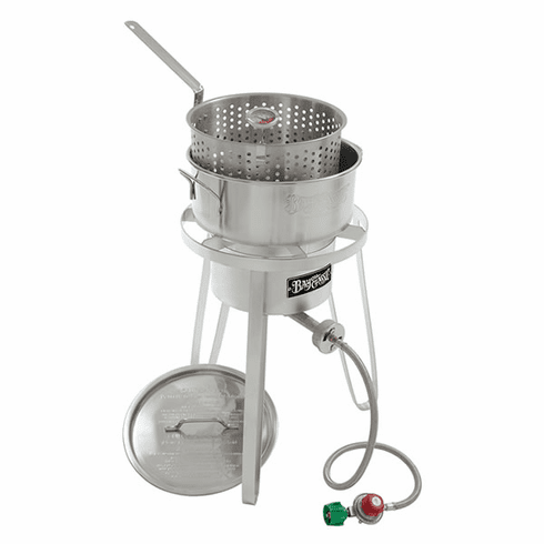 Bayou Classic Stainless Fish Cooker, Model# 1135