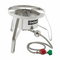 """Bayou Classic 14"""" Stainless High Pressure Cooker, Model# SS10"""