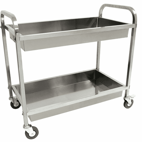 Bayou Classic Stainless Serving Cart, Model# 4873