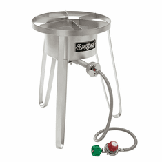 """Bayou Classic 21"""" Tall Stainless High Pressure Cooker, Model# SS50"""