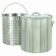 Bayou Classic Stockpots With Baskets