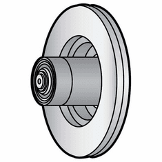 Berkel Knife Pulley Assembly (New Style)/Parts For Berkel Slicers (Made In The USA), Model# b-036