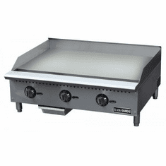 "Black Diamond 36"" Thermostatic Gas Griddle NG, Model BDCTG-36T"