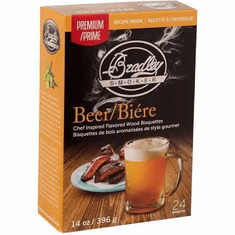 Bradley Premium Beer/Hop Infused Bisquettes 24-Pack Model BTBR24
